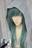 Kagerou Project Mekakucity Actors KIDO TSUBOMI Slate Green 60cm Straight Cosplay Party Wig