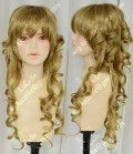 4 Color Youth Girl   60cm Khaki  60cm Curly Daily Cosplay Party Wig