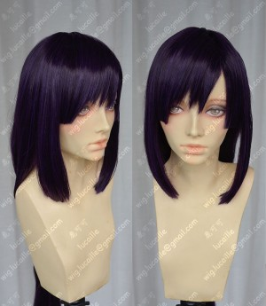 Tokyo Ravens Natsume Tsuchimikado Dark Purple 100cm Cosplay Party Wig