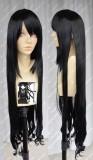 STRIKE THE BLOOD Natsuki Minamiya Black 100cm Curly Wig
