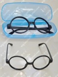 Black Circular Glass frame without Glass for Cosplay Party Use