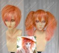 Ayamo Style Tokyo Fashion Candy Orange Color Couples Daily Cosplay Party Wig
