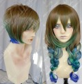 Ayamo Style Tokyo Fashion Peacock Color Couples Daily Cosplay Party Wig