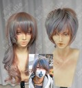 Ayamo Style Tokyo Fashion Ash Rose Mix Purple Blue Color Couples Daily Cosplay Party Wig