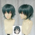 Coppelion Aoi Fukasaku Teal Green Short Cosplay Party Wig