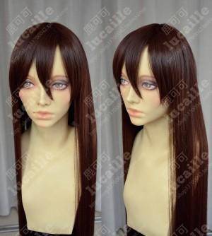APH Axis Power Hetalia Taiwan 100cm Warm Brown Straight Cosplay Wig