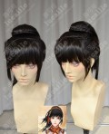 Swords of Legends WenRenYu Black Style Ponytail Cosplay Party Wig