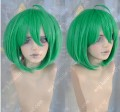 Macross Frontier Ranka Lee  Spring Green Stay Hair Short Cosplay Party Wig