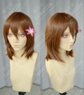 Pupa Yume Hasegawa Brown Short Cosplay Party Wig