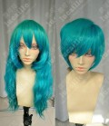 Ayamo Style Tokyo Fashion Miku Style Turquoise Color Couples Daily Cosplay Party Wig