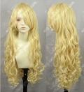 Touhou Project Marisa Kirisame 80cm Blonde Wavy Cosplay Wig