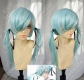 Yamada-kun and the Seven Witches Noa Takigawa Baby Blue Ponytails Style Cosplay Party Wig