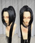 Swords of Legends XiaYiZhe  Black  Cosplay Party Wig W/ponytail