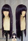 Recently, My Sister is Unusual Mitsuki Kanzaki Straight 70cm Dark Purple Cosplay Party Wig