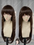 Noragami Hiyori Iki Dark Coffee Brown 70cm Straight Cosplay Party Wig
