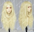 Ayamo Style Milk Gold 80cm Wavy Lolita Princess Party Cosplay Wig