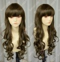 4 Color Youth Girl Loita Style 60cm Brown Daily Curly Cosplay Party Wig