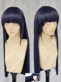 Naruto Hyuga Hinata Black Mix Purple 70cm Straight Cosplay Party Wig