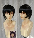 Hozuki no Reitetsu Hakutaku Black Short Cosplay Party Wig