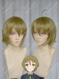 NO-RIN Ringo Minori Nakazawa Antique Gold Short Cosplay Party Wig