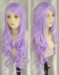 ZYR Ayamo Fashion Light Purple 90cm Wavy Party Cosplay Wig