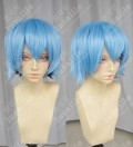 Riddle Story of Devil Akuma no Ridoru Tokaku Azuma Ice Blue Gradient Black Cosplay Party Wig