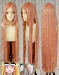 The World is Still Beautiful Nike Remercier Brown Pink 100cm Straight Cosplay Party Wig
