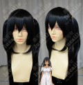 Captain Earth Hana Muto 100cm Black Ponytail Style Cosplay Party Wig
