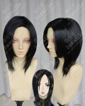 Blade & Soul Varel Jin Black Style Short Cosplay Party Wig