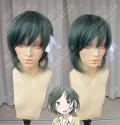 One Week Friends Saki Yamagishi Slate Green Short Cosplay Party Wig