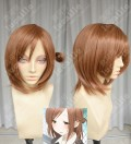 One Week Friends Kaori Fujimiya Light Red Brown Left Side Circular  Ponytail Style Cosplay Party Wig