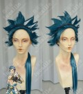 Kamigami no Asobi: Ludere deorum Takeru Totsuka God Style Madonna Blue  Cosplay Party Wig /W hair extend
