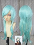 Kantai Collection Suzuya Aqua Green 60cm Wavy Cosplay Party Wig