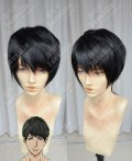Shōnen Hollywood -Holly Stage for 49- Ikuma Araki Black Short Cosplay Party Wig