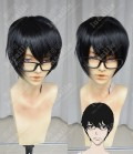 Terror in Resonance Nine/Arata Kokonoe Black Short Cosplay Party Wig