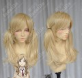 Aldnoah.Zero Nina Klein Light Blond 60cm Ponytails Cosplay Party Wig