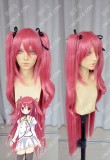 Bladedance of Elementalers Claire Rouge Camellia 100cm Straight Cosplay Party Wig/W Ponytails