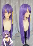 Bladedance of Elementalers Fianna Ray Ordesia 100cm Purple Straight Cosplay Party Wig