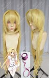 Bladedance of Elementalers Rinslet Laurenfrost Blond 100cm Curly Cosplay Party Wig