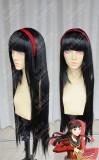 Persona4 the ANIMATION Yukiko Amagi Black 80cm Cosplay Party Wig