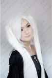 Vocaloid Aku White 120cm Ponytail Style Cosplay Wig