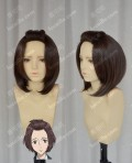 Parasyte Kiseiju Satomi Murano Coffee Brown Short Cosplay Party Wig