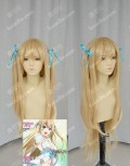 Amagi Brilliant Park Sylphy Apricot 70cm Curly Cosplay Party Wig