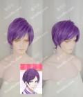 Bonjour♪Koiaji Pâtisserie Yoshinosuke Suzumi Blueviolet Short Cosplay Party Wig