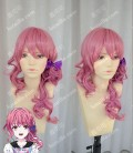 Bonjour♪Koiaji Pâtisserie Haruno Sayuri Palevioletred 40cm Curly Cosplay Party Wig