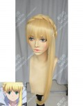 Aldnoah.Zero Asseylum Vers Allusia Naples Yellow Updo Style Cosplay Party Wig