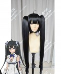 Is It Wrong to Try to Pick Up Girls in a Dungeon? Hestia Black Ponytails Style Cosplay Party Wig