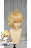 Tohken Sword Rambu -ONLINE-Yamanbagirikunihiro Mix Golden Short Cosplay Party Wig