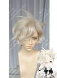 Tohken Sword Rambu -ONLINE-Gokotai Cream Short Cosplay Party Wig