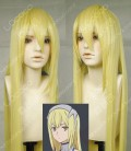 Is It Wrong to Try to Pick Up Girls in a Dungeon? Aiz Wallenstein Gloden 100cm Straight Party Cosplay Wig